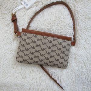 NWT Michael MK waist pouch purse size L